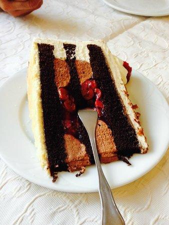 Rheintal: Black forest cake