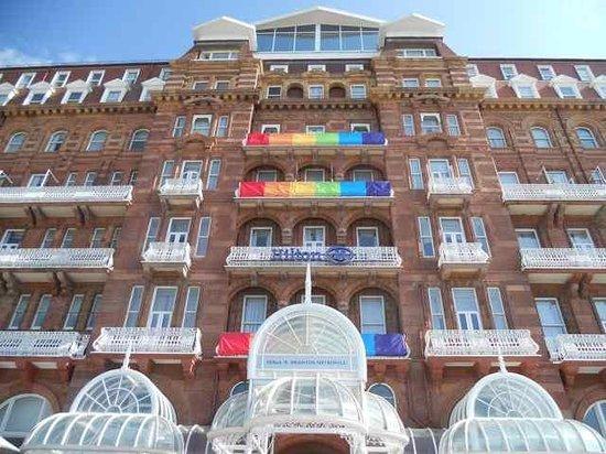 Hilton Brighton Metropole: Very colourful!