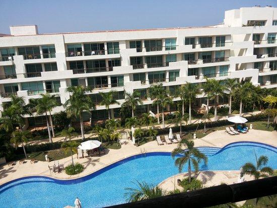 Estelar Playa Manzanillo: Vista da Piscina