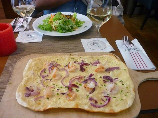 Ignaz | Brasserie: A Famosa Torte Flambé
