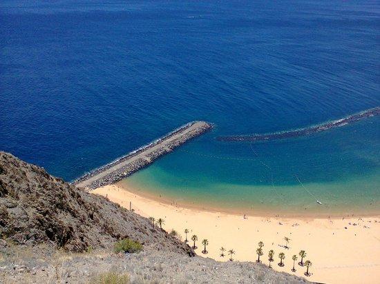 Playa de las Teresitas : la playa