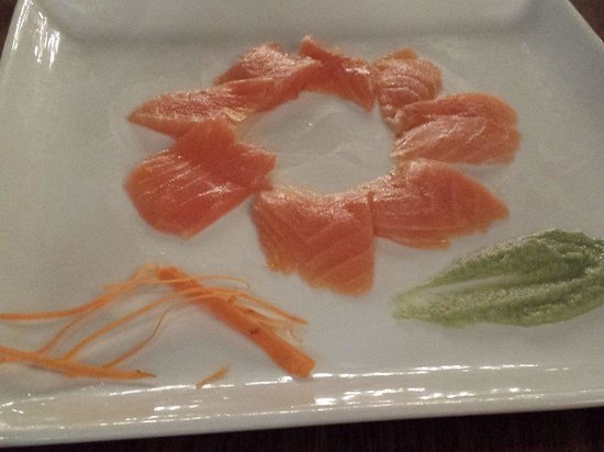 Beach Palace: Sashimi @ Wok Asian Restaurant
