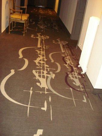 Hotel Majestic : Hallway