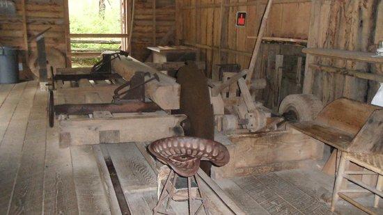 Mabry Mill : sawmill
