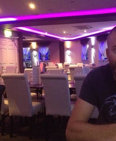 Fuzion enniskillen: just a nice place to eat! No fake plastic fish or waterfall anywhere!