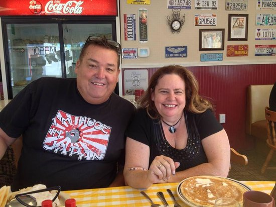 Jimmy's Down the Street: Eleanora & Myself, That's an awesome looking Pancake