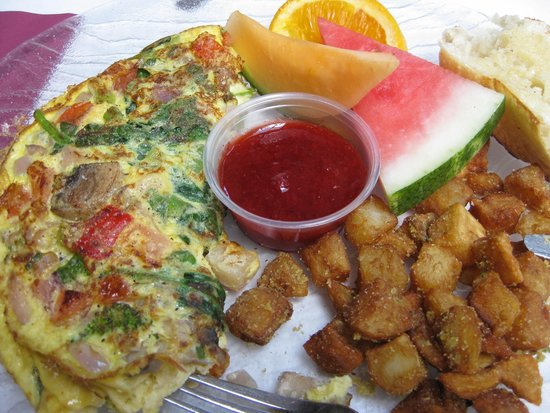 L'Accent : omelette