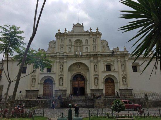 Catedral de Santiago: Собор на главной площади