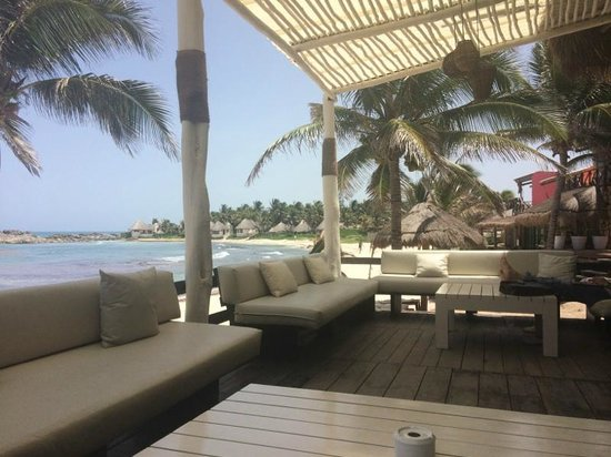 El Pez Colibri Boutique Hotel: View from breakfast
