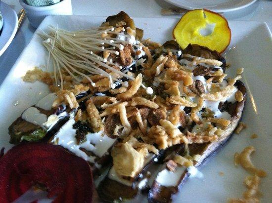 Green Cottage: Grilled Eggplant Appetizer