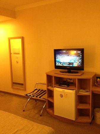Hilton Garden Inn Washington, DC Downtown : Tv do Quarto