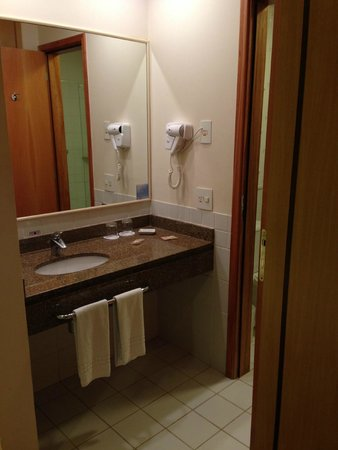 Hilton Garden Inn Washington, DC Downtown: Pia do banheiro