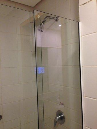 Hilton Garden Inn Washington, DC Downtown: Chuveiro do Banheiro