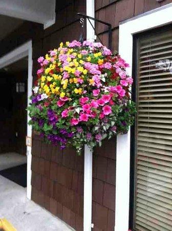 Bandon Inn : Outside the Registration/Gift Shop/Breakfast area