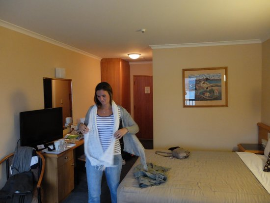 Holiday Inn Queenstown Frankton Road: Clean and Tidy, before we got there anyway!