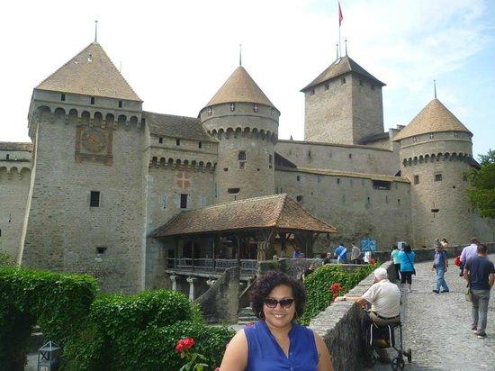 Chateau de Chillon : A beleza de cartão-postal