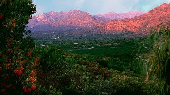 The Day Spa of Ojai: Ojai Pink Moment Sunset
