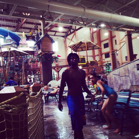 Great Wolf Lodge: My son is 13 and he loved it too!