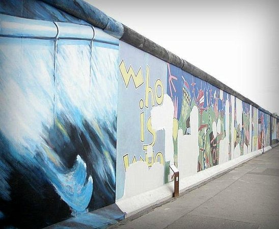 Memorial of the Berlin Wall : Muro de Berlin