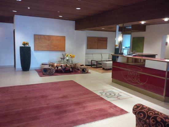 Alpine Well&Fit Hotel Eagles-Astoria Innsbruck-Igls : Reception area