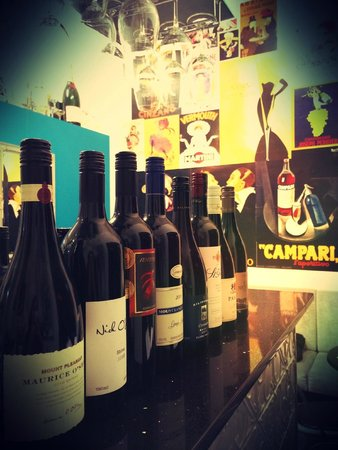 Marquise Bar Windsor: Shiraz Line Up for Tasting
