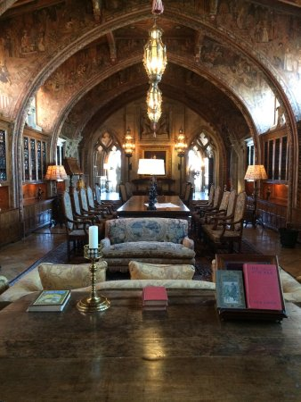 Hearst Castle : The private office of Mr. William Randolph Hearst