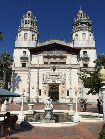 Hearst Castle : The front of Casagrande