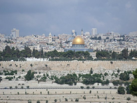 Just Jerusalem Tours -  Day Tours : View from Mt Olives