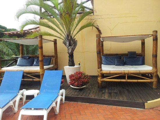 Rio Buzios Beach Hotel : Descanso en el solarium