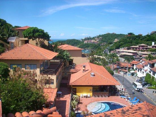 Rio Buzios Beach Hotel : Parece mas lejos, pero en verdad el hotel esta a 50 mts de Joao Fernandez