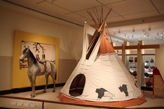 Exhibit at The Eiteljorg Museum