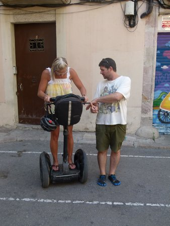 Barcelona Segway Glides: Edgar still teaching
