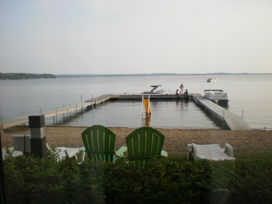 Holiday Inn Detroit Lakes: View from our room