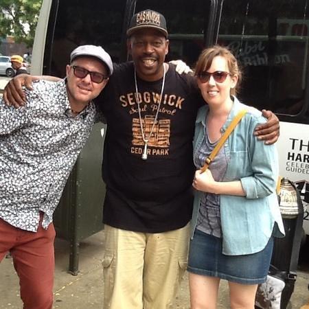 Hush Hip Hop Tours : us and Grandmaster Cas