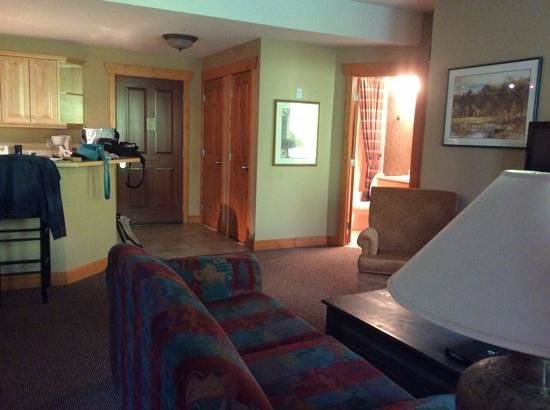 Lizard Creek Lodge : our room