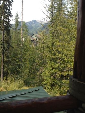Lizard Creek Lodge : the view from our deck