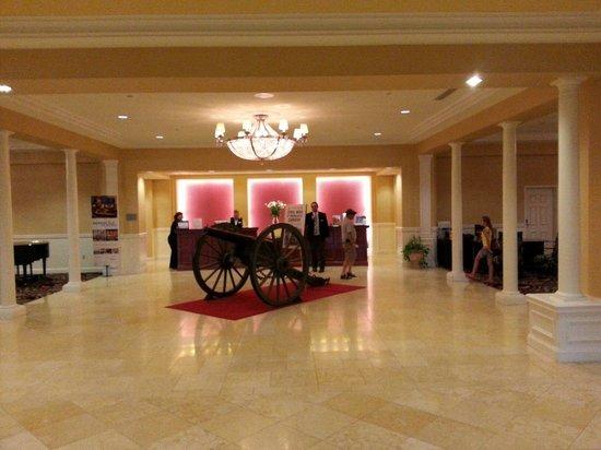 Wyndham Gettysburg: Hotel lobby