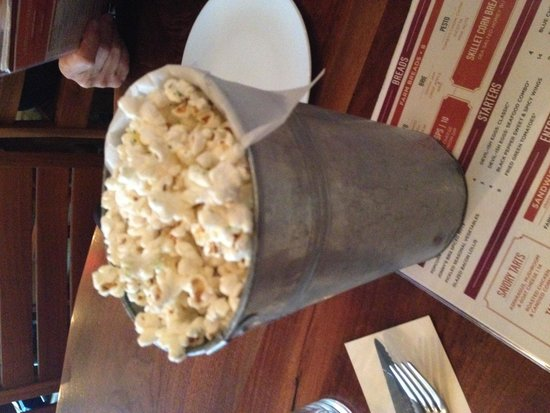 Founding Farmers : popcorn of the day