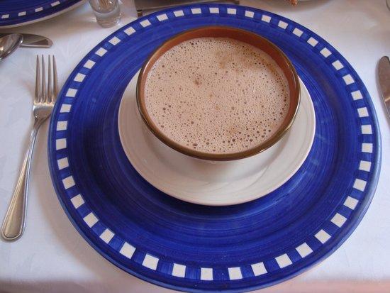 Catedral Restaurante & Bar: Chocolate de leche