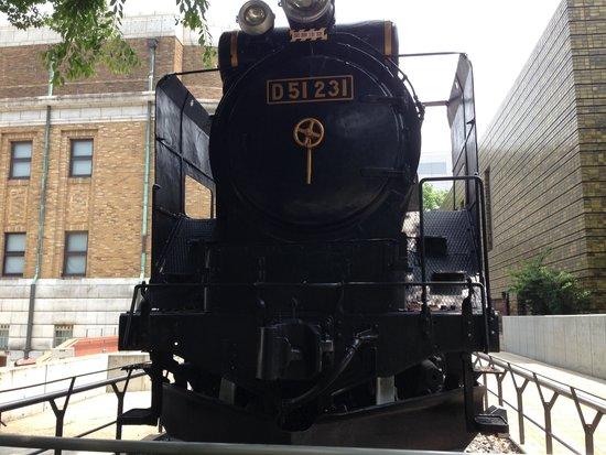 Museo Nacional de Ciencia: 機関車です