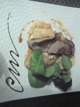 Le Bartok : agneau en aiguillettes (menu)