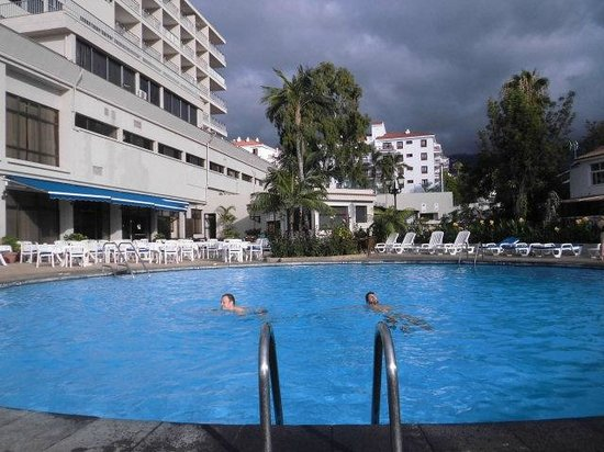 Hotel El Tope: pool view