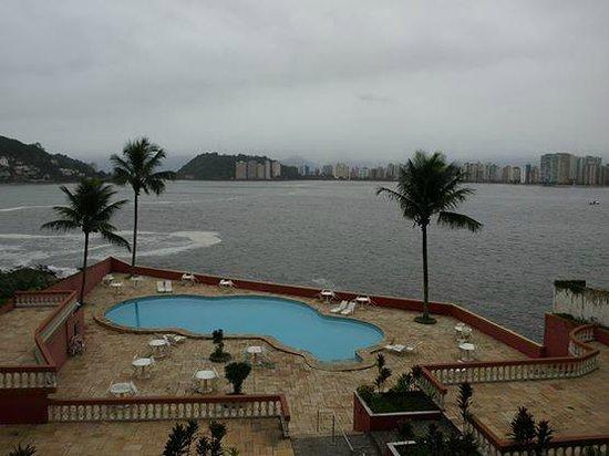 Ilha Porchat Hotel: Linda vista.