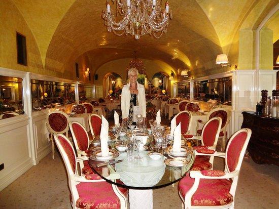 Alchymist Grand Hotel & Spa: Dining room