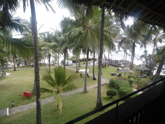 Voyager Beach Resort: view from our room