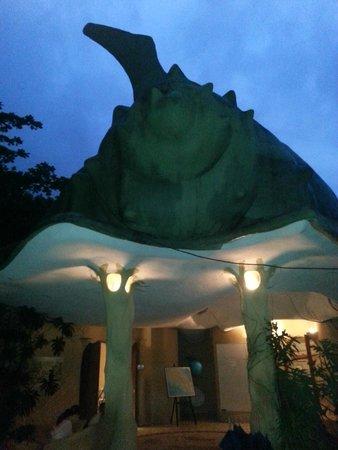 Laguna Lodge Tortuguero: Laguna Lodge reception area