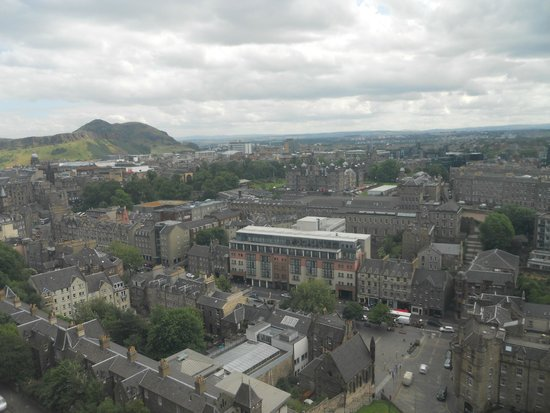 Travelodge Edinburgh Central: Edinburgh Castle View
