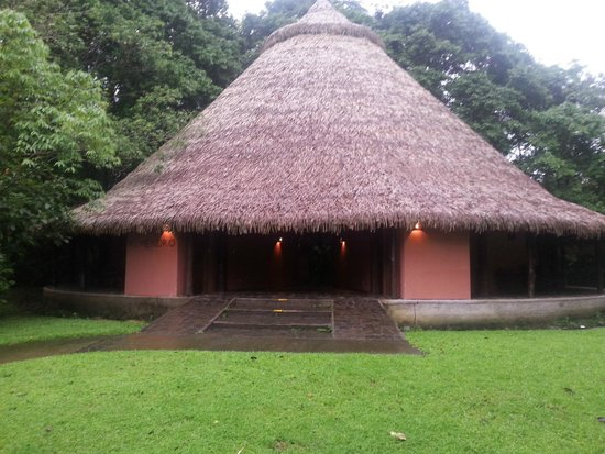 Sarapiquis Rainforest Lodge : Hut where the rooms are located