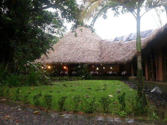 Sarapiquis Rainforest Lodge: The Dining Area