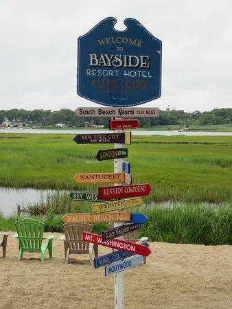 Bayside Resort Hotel: Landscape